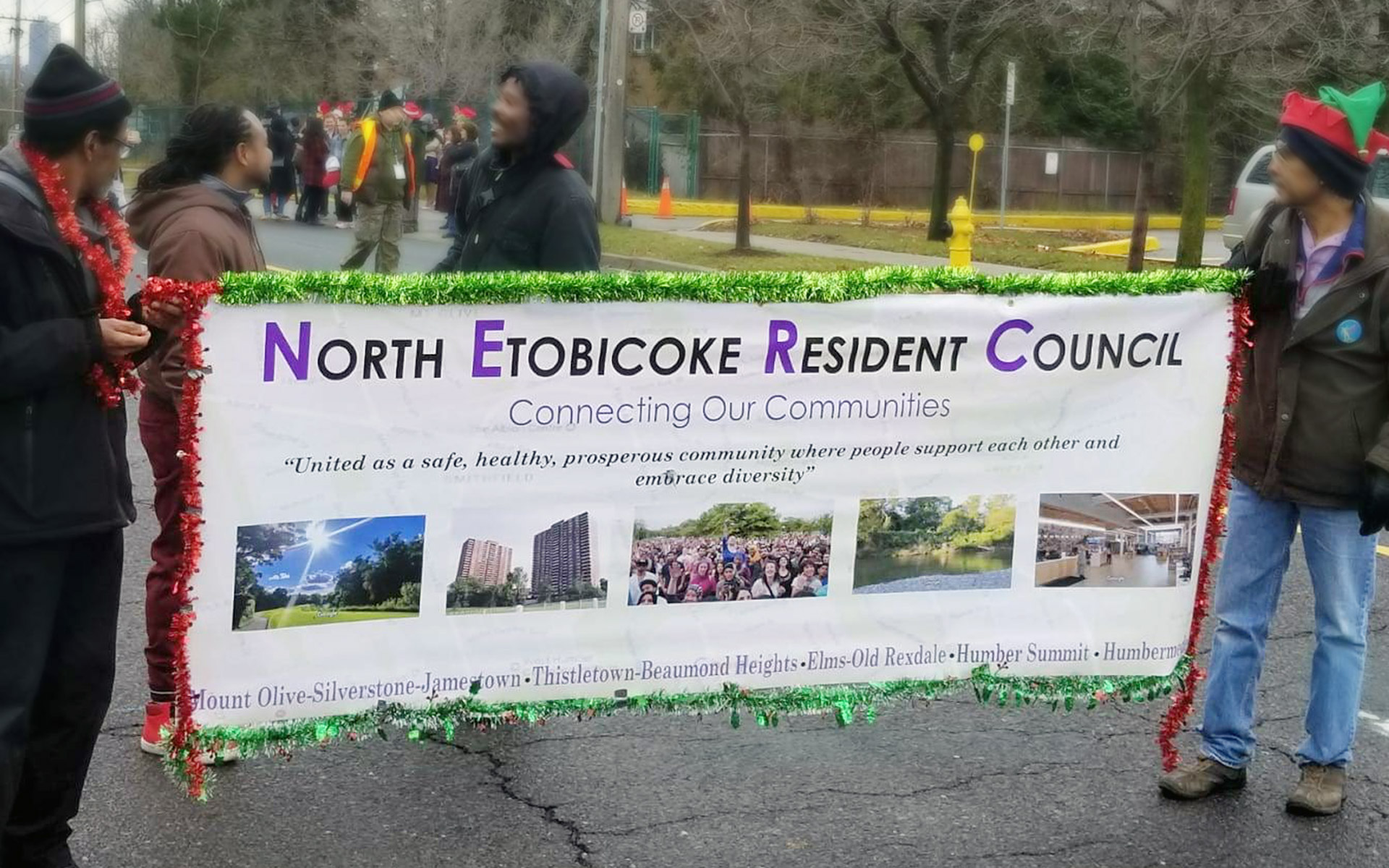 Outdoor Banner of North Etobicoke Resident Council