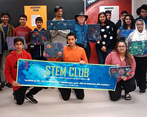 STEM Club group
